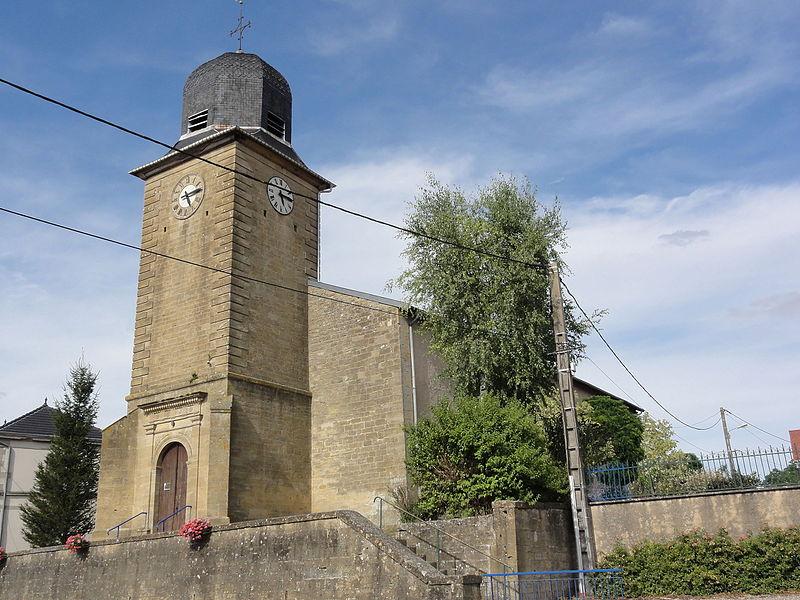 Nouillonpont (Meuse) église