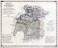 Nowa Galicja Mapa - Kraków - Słomniki - Stopnica oraz Bochnia - Myślenice - Nowy Sącz 1803.jpg