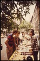 ONE OF MANY SIDEWALK ANTIQUE AND GIFT DISPLAYS AT A BLOCK PARTY ON EAST 35TH STREET BETWEEN LEXINGTON AND MADISON... - NARA - 551690.tif