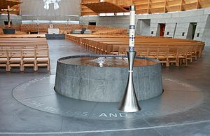 Cathedral of Christ the Light (Oakland, California) - Baptismal font