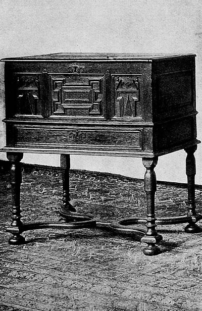 Oak Chest Supported on Frame - Elizabethan People (book).jpg