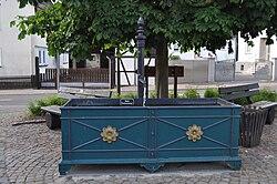 Brunnen in Oberems