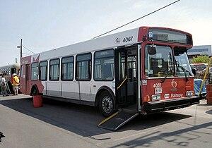 OC Transpo bus 4067