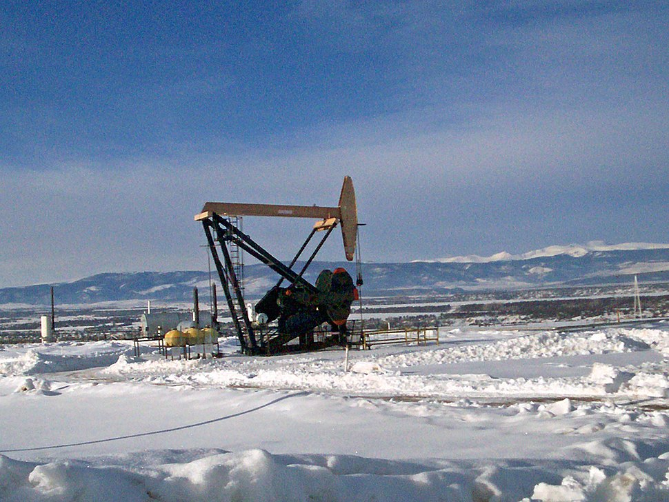 Oil Well in Duchense County, Utah