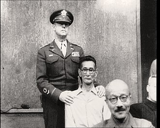 Shūmei Ōkawa - Okawa in court
