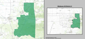 Oklahoma's 2nd congressional district - since January 3, 2013.