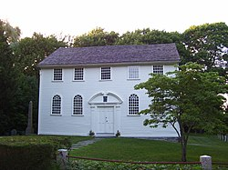 Old Narragansett Church In North Kingston, RI
