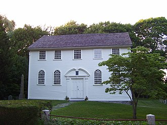 Wickford, Rhode Island - Image: Old Narragansett Church Wickford RI