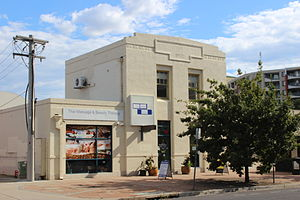 Braddon, Australian Capital Territory - One of the few remaining original buildings from the 1920s in Elouera Street
