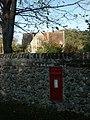 Old school, postbox, Great Melton - geograph.org.uk - 77367.jpg