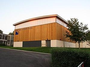 Oldfield School - Sports hall opened by Helen Glover in 2012