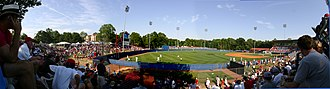 Swayze Field - Panoramic view of Oxford-University Stadium/Swayze Field at Ole Miss in 2006.