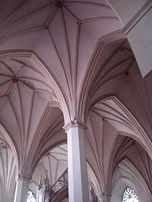 15th Century Rib Vaulting In St Olafs Church Tallinn One Of The Defining Characteristics Gothic Architecture Is Pointed