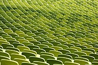 Olympic Stadium Munich - Rows of Seats, April 2019 -04.jpg