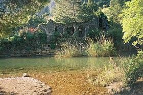 Les bains romains d'Olympos