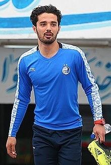 Omid Noorafkan in Esteghlal training 2018-02-28 01.jpg