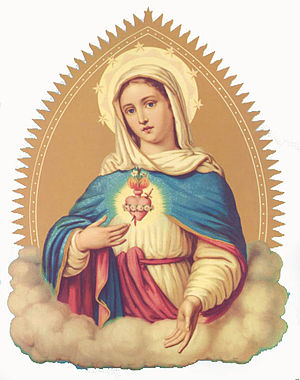 Immaculate heart of the Virgin Mary (devotiona...