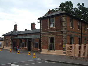 Ongar railway station - Ongar station after re-opening in 2012
