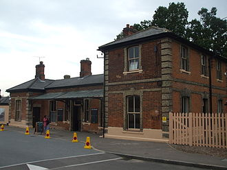 Chipping Ongar - The Ongar railway station.  Proposals have been made for restarting services to Epping.