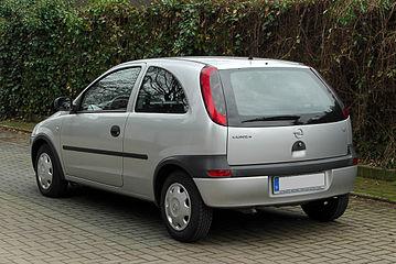 Opel Corsa C Wikiwand