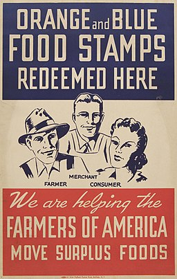 Orange-and-Blue-Food-Stamp-Poster