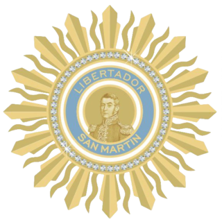 Order of the Liberator General San Martín Decoration of Argentina
