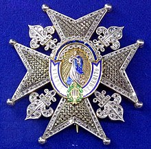 Order of Charles III star with diamonds (Spain 1936-1960) - Tallinn Museum of Orders.jpg