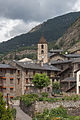 Ordino and bell tower of Saint Corneli and Saint Cebrià. Andorra 221.jpg