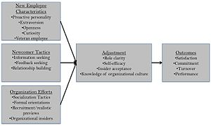 Socialization - Organizational Socialization Chart