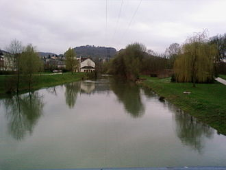 Orne (Moselle) - The Orne flooding at Rombas