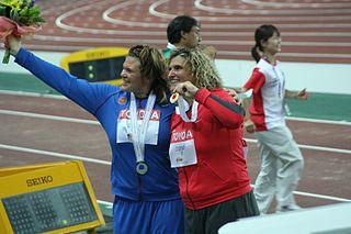 Darya Pishchalnikova discus thrower from Russia