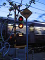 Osaka hankyu railroad crossing.jpg