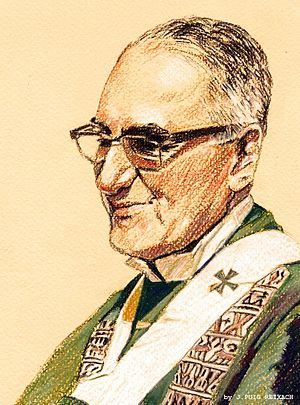 a short biography of oscar arnulfo romero About oscar a romero: óscar arnulfo romero y galdámez (15 august 1917 – 24 march 1980) was a prelate of the catholic church in el salvador, who served a.