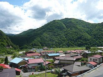 Ōtaki, Nagano - Ōtaki village