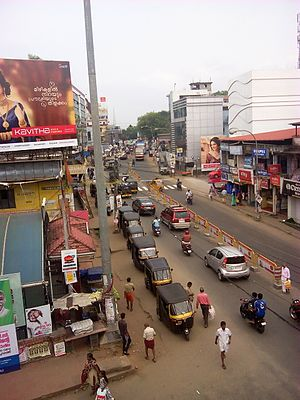 Ottapalam - Main Road Ottapalam, near the Bus Stand