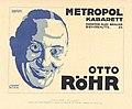 Otto Röhr im Metropol-Kabarett, 1919 - Jo Steiner.jpg