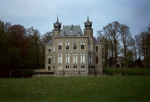 Herman Boerhaave - Oud Poelgeest Castle, Herman Boerhaave's home in Oegstgeest, near Leiden. This was the site of his outdoor botanical garden that was renowned during his lifetime and rivalled Hortus Cliffortianus, the garden of his friend and sponsor to Linnaeus. He travelled back and forth to his friend's garden and to the Leiden University by trekschuit.