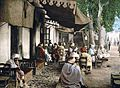 Outside a Moorish café - Tunis - Tunisia - 1899.jpg