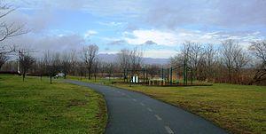 Overpeck County Park - Image: Overpeckhobel 1