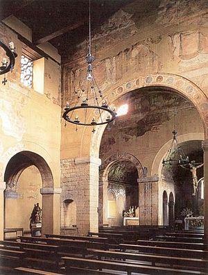 Asturian architecture - St Juliàn Prados, Oviedo
