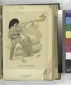 Période Gauloise Historique - soldat Gaulois sonnant de la trompe de guerre (NYPL b14896507-1235266).tiff