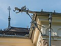 Pörtschach Johannaweg 1 Villa Venezia NO-Ecke Wasserspeier 30072016 4095.jpg