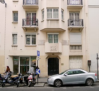 Jean-Baptiste Réveillon - Image: P1060942 Paris XI rue de Montreuil n°31 rwk