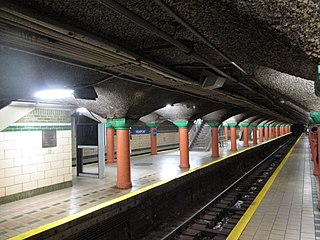 Newport station (PATH) Port Authority Trans-Hudson rail station