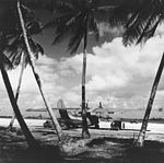 PBY-5A Catalina at Majuro Airfield in March 1944.jpg