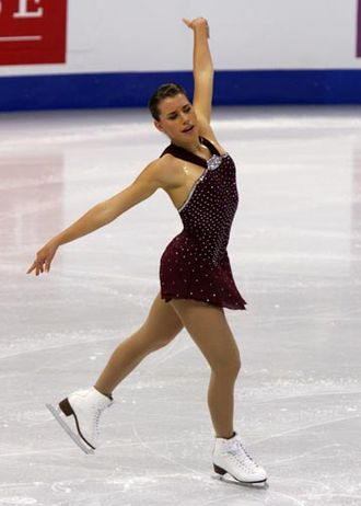 Cynthia Phaneuf - Phaneuf at the 2008 Skate Canada.