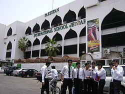Pakistan International School Jeddah.