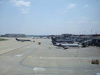 US Airways - US Airways operations in Pittsburgh following hub elimination.