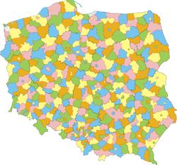 Powiaty Polska