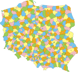 Powiat - Division of Poland into powiats (counties)